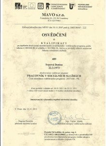 certifikát - Denisa0005